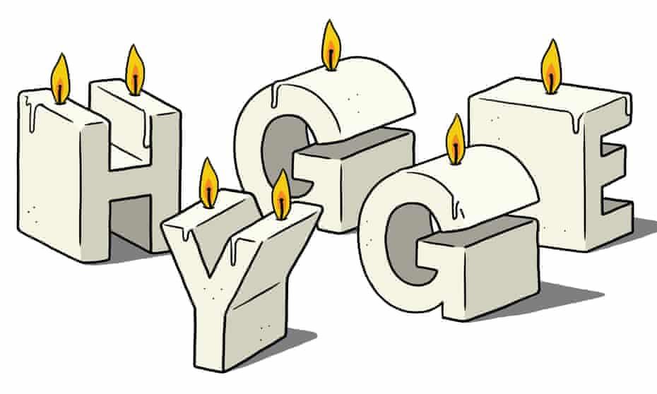 Little Book of Hygge illustration by Matt Blease
