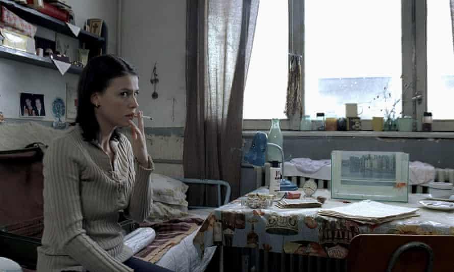 Laura Vasiliu in Cristian Mungiu's 2007 film 4 Months, 3 Weeks and 2 Days.