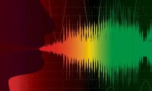 Voice recognition illustration