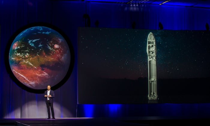 Spacex founder elon musk plans to get humans to mars in six years spacex founder elon musk plans to get humans to mars in six years technology the guardian malvernweather Gallery