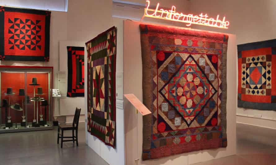 Unforgettable 2016, an exhibition of Welsh quilts at the Old Town Hall, Lampeter, designed by Gwenllian Ashley.