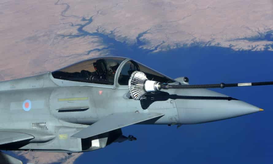 Sales of Typhoon jets to Saudi Arabia are a central part of Britain's trade strategy as it prepares for Brexit.