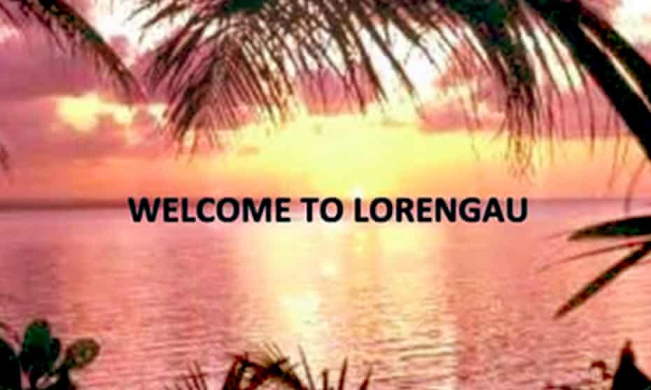 Welcome to Lorengau brochure for refugees