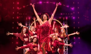UK actor Callum Francis in the Australian production of Kinky Boot