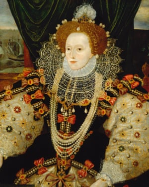 The Armada portrait shows Elizabeth in full Gloriana mode and is rich in symbolism.