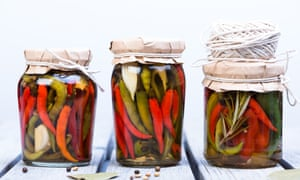 Many foods can be pickled to preserve them.