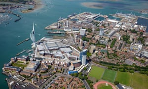 Portsmouth harbour will host a leg of the sailing contest the America's Cup.