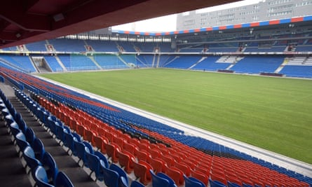 St Jakob-Park hosted matches at Euro 2008 but its size does not seem appropriate for an occasion like the Europa League final.