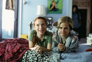 Elizabeth Sallay and Amy Sedaris in Strangers with Candy