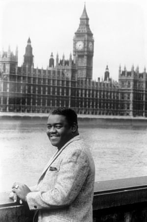 Domino on a visit to London in June 1965