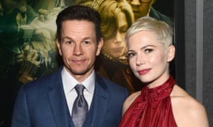 Michelle Williams and Mark Wahlberg, who co-star in the new Ridley Scott film about J Paul Getty.