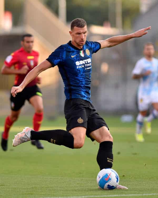 Edin Diego è arrivato all'Inter in uno scambio gratuito.