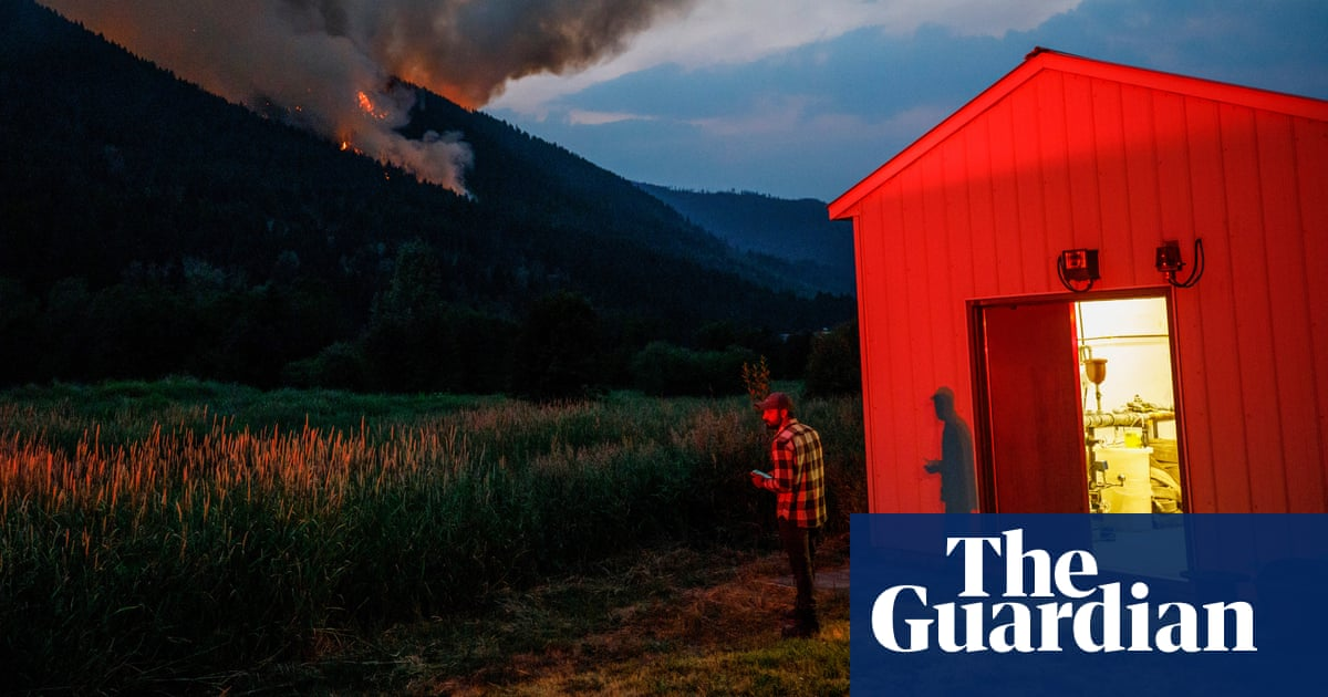 'I came home to fight for my land': First Nations battle Canada blaze that displaced them