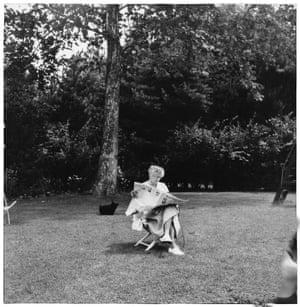 Eleanor Roosevelt, Hyde Park, New York, 1956