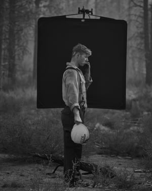 'Part of my overall concept for making this body of work about these men and women that protect our national forests was to show who they were up close and personal. I set up a small makeshift studio outside in the field photographing many of them as they are, in full detail'