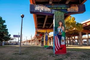 "A mural ""Pachuca Blood"" in Lincoln Park"