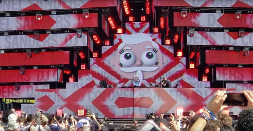 'DJ Colonel Sanders' at the Ultra music festival in Miami