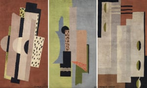 The three rugs by Bacon