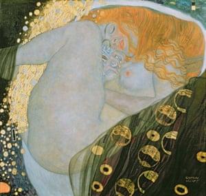 Gustav Klimt's Danaë (1907)