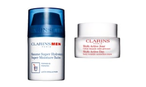 A man can moisturise with Clarins cream for £29/50ml. A woman using the same brand will pay £44/50ml.