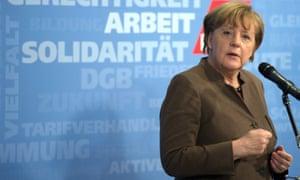 Robert Peston says his dream interviewee is the German chancellor, Angela Merkel.