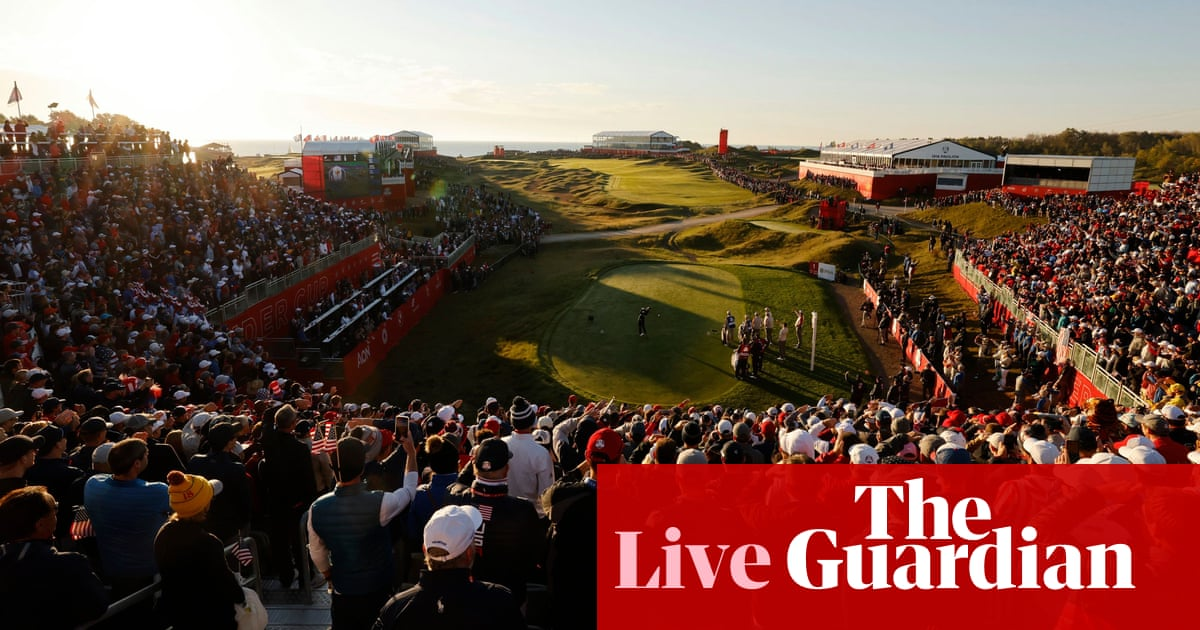 Copa Ryder: USA v Europe, day two foursomes – live!