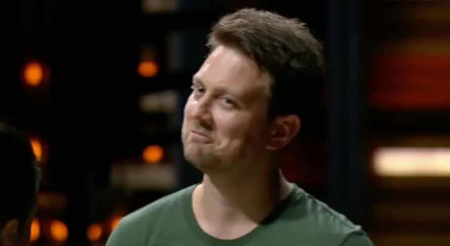 Ben, in a still from MasterChef Australia 2021.
