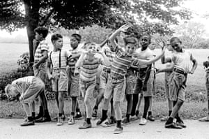 New York. 1963. Summer camp for the poor children of cities in New York State.