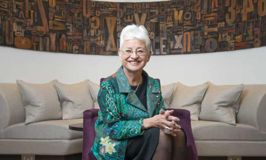 Jacqueline Wilson: 'Some of the group I met had done very well for themselves. They were bothered by the average person's perception of a care leaver.'