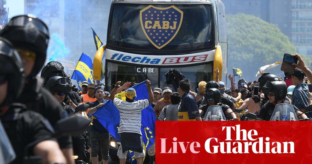 Copa Libertadores final put back 24 hours after River fans attack Boca bus  - as it happened 847e59d1294