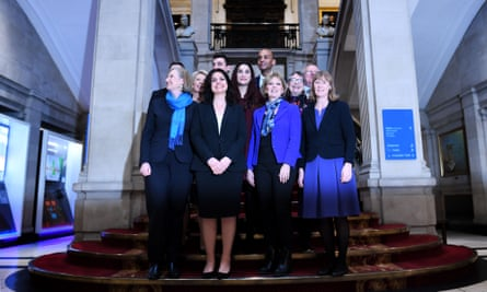 The Independent Group on Wednesday, comprising 11 former Labour and Conservative MPs.