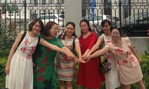 The wives of human rights lawyers who have been seized by Chinese security