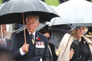 The pair attend the national ceremony at the Australian War Memorial in Canberra.