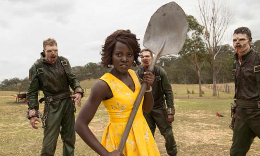 Lupita Nyong'o in Little Monsters.
