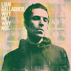 Liam Gallagher: Why Me? Why Not. album art work