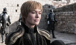 A campy descent into absolute villainy ... Cersei Lannister (Lena Headey).