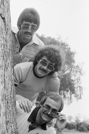 David Johnson, Terry McDermott and Mick Mills