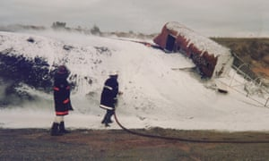 Firefighting foam containing PFAS chemicals. A settlement has been reached over potentially hazardous chemicals used in the foam at three defence bases in Australia.
