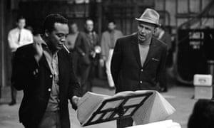 Jones with Frank Sinatra in 1964.