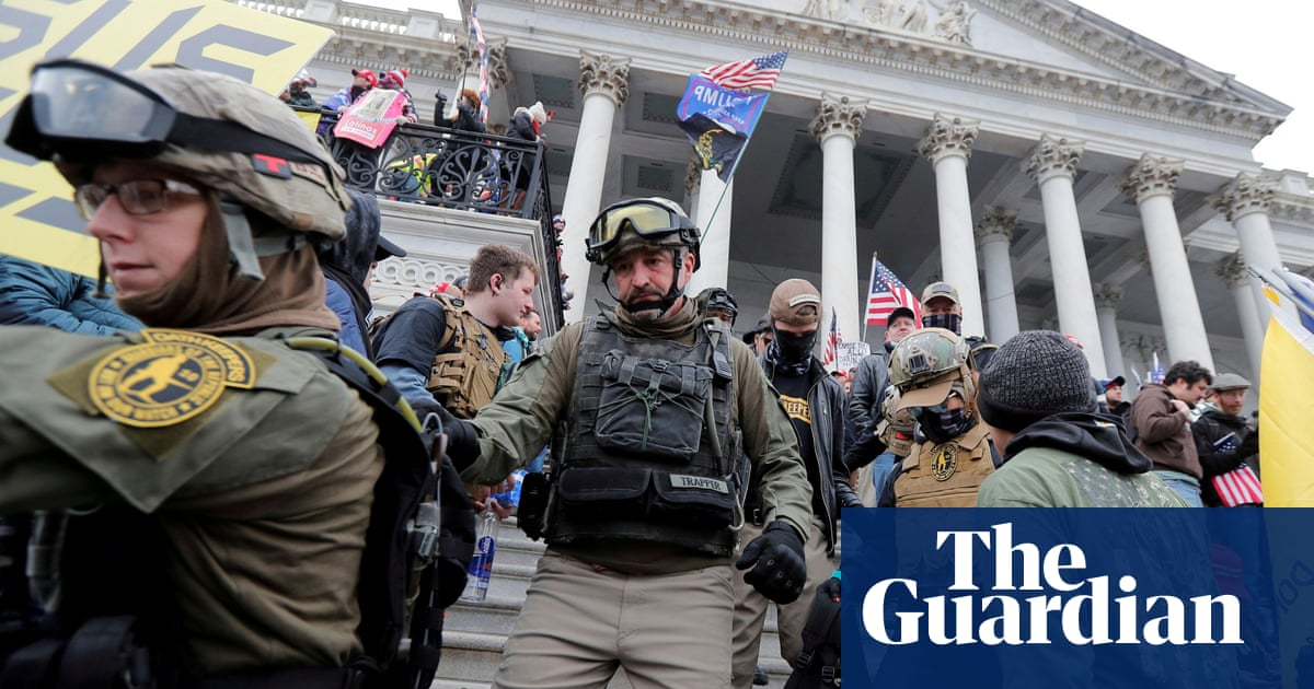 Far-right militia group membership surged after Capitol attack, hack shows