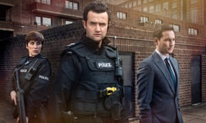 Vicky McClure, Daniel Mays and Martin Compston.