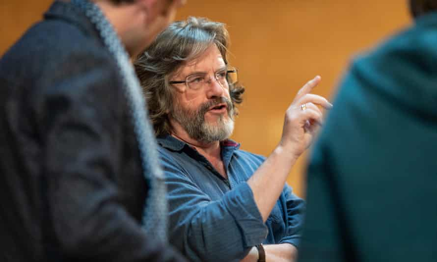 RSC artistic director Greg Doran in rehearsals for Measure for Measure