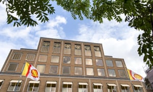 Royal Dutch Shell head office in the Hague, Netherlands.