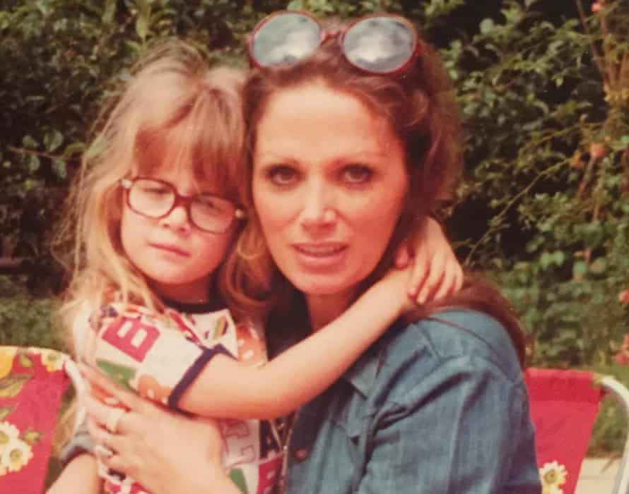 Jackie Collins with her daughter Rory