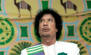 Muammar Gaddafi became the team's patron, and gave Iserlohn the cash in exchange for promotion of his Green Book.