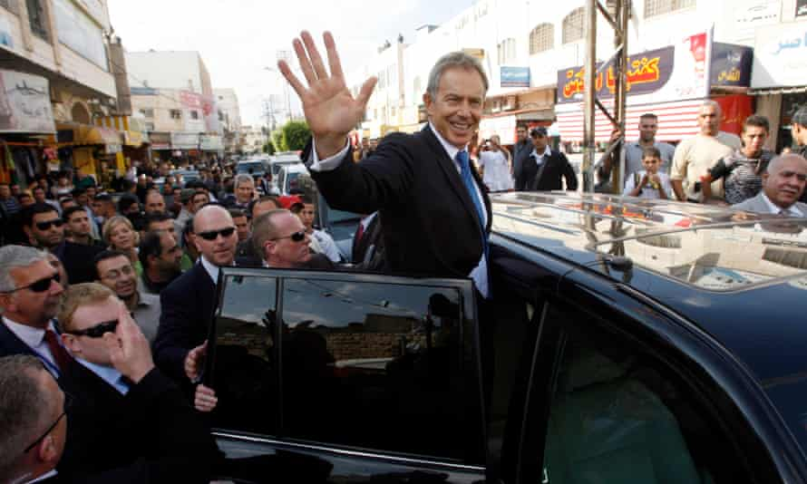 Tony Blair visits Jenin
