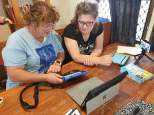 Catch Tilly and her daughter Morgan at home in Adelaide as they navigate Morgan's first online speech therapy class, usually done in person.