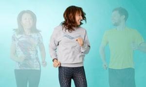 Zoe Williams runs with virtual friends