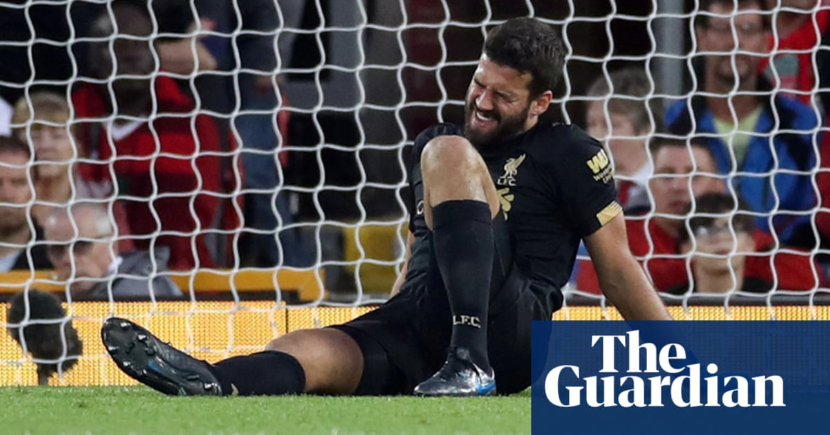Alisson will not be back for Liverpool before mid-October, says Jürgen Klopp