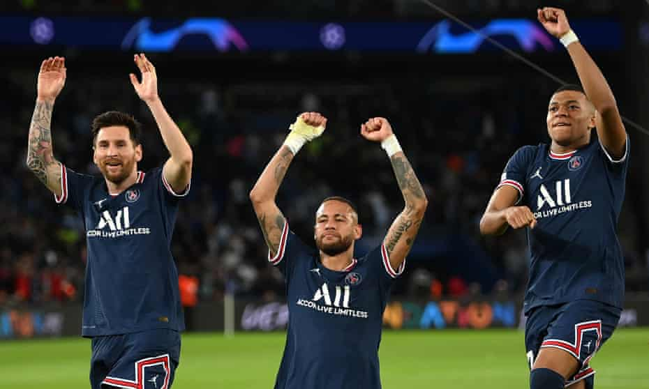 PSG's forwards are brilliant but how far can they go with a 'broken team'?    Paris Saint-Germain   The Guardian
